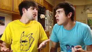 Smosh - Food Battle 2011 BLOOPERS AND EXTRAS