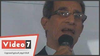 بالفيديو..معصوم مرزوق: الشيخ الداعى لتعديل الدستور وقف على منصات الإخوان