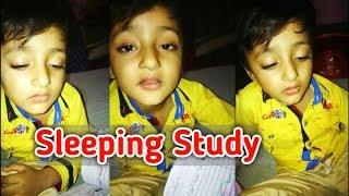 Cute Baby Sleeping during Study | Cute Sufyaan | Cute Baby Sleeping Compilation