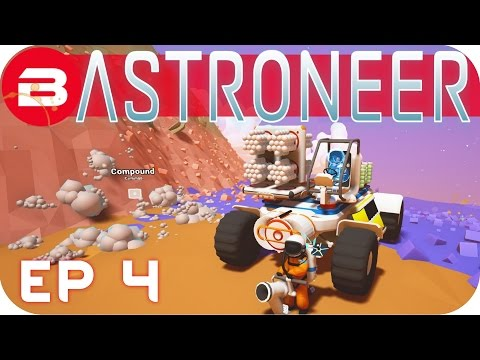 Astroneer Gameplay - COOL SPACE TRUCK!! #4 Let's Play Astroneer