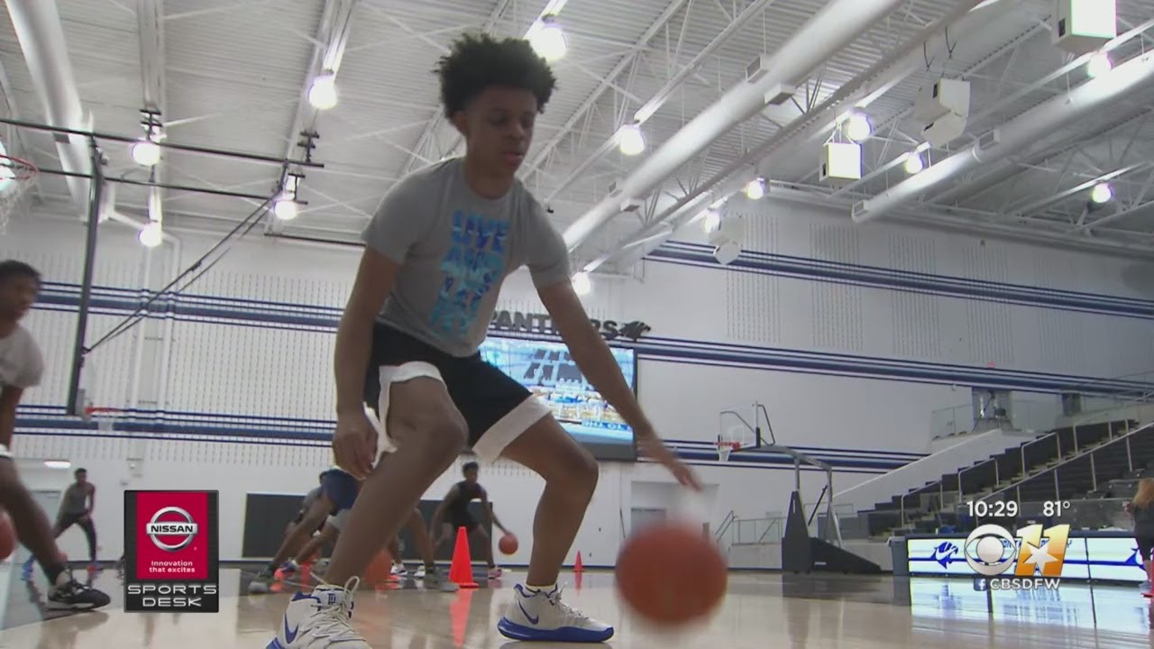 North Crowley High School Basketball Adjusts To New Type Of Practice During Pandemic