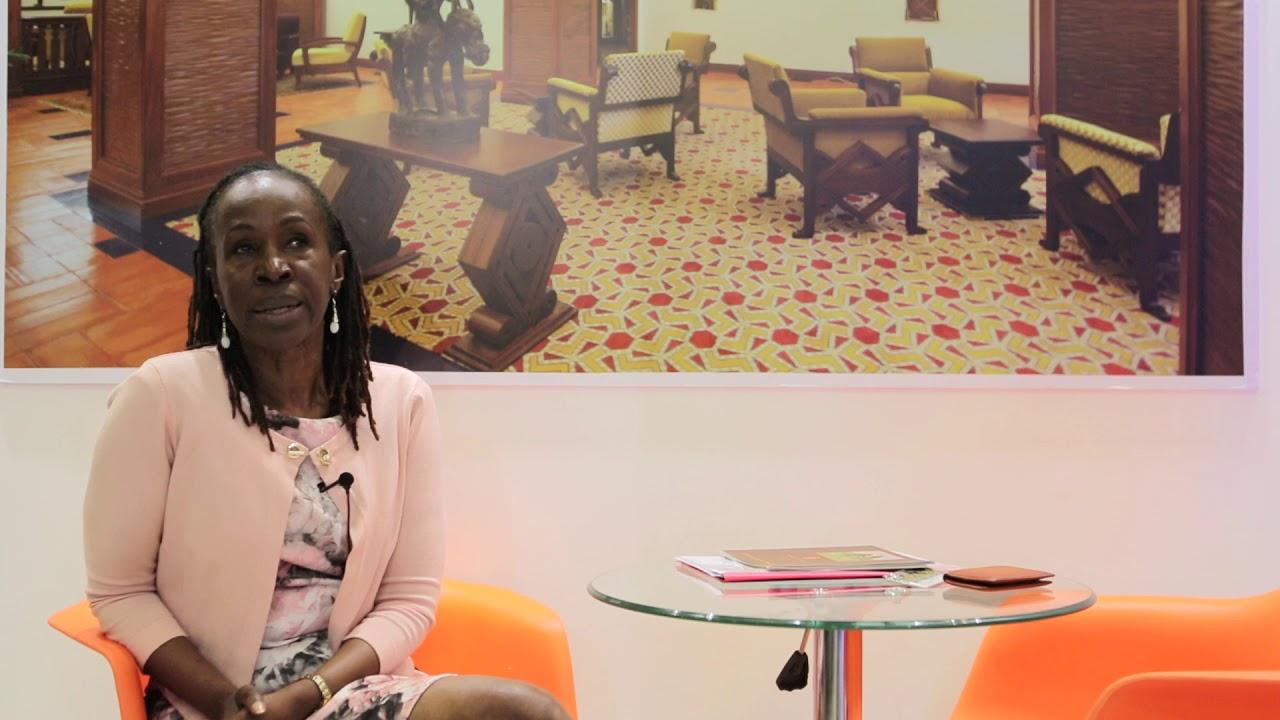 Rosemary Mugambi from Serena Hotels, East Africa - Magical Kenya Travel Expo