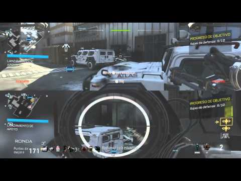 Detroit World Record Coop Round 104 Exo Survival Gameplay Advanced Warfare PS4 1080p