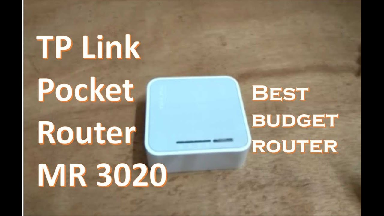 Tplink pocket 3020 quick review and setup
