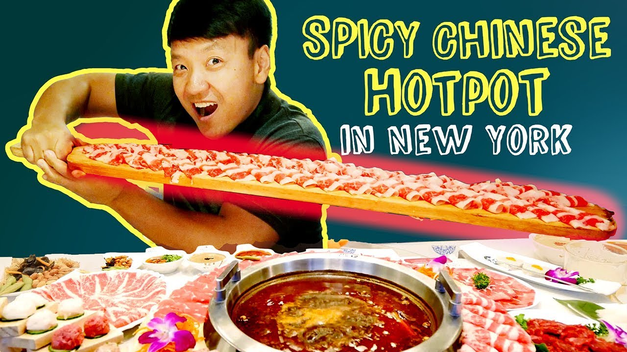 Download SPICY MEAT FEAST! BEST Chinese Hotpot in New York Review