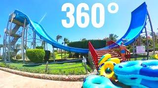 Waterslide 360° Crazy Insane Infinity water slide park Samsung Gear 360 VR video