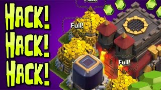 "Clash of Clans - ""HACKED BASE!"" GLITCH OR HACK? Weird Village Bug In Clash of Clans!"