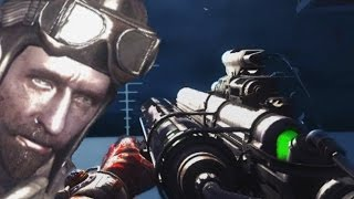 BEAST ZOMBIE MAP! Call of Duty Zombies OIL RIG Easter Egg Ending Gameplay
