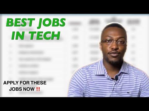 BEST JOBS IN TECH 2020-2021 | PushToProd