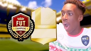 MY FUT CHAMPS REWARDS! | THE BEST LUCK EVER?!!