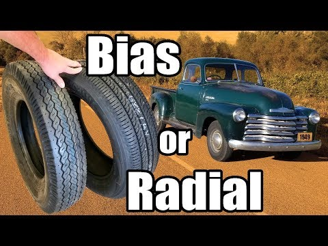 Bias Ply Or Radial Tires For 1949 Chevy 5 Window 3100 Truck