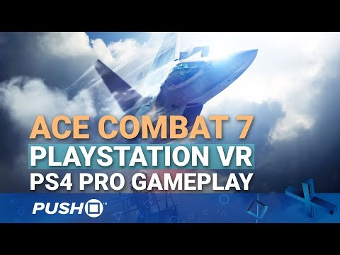 Ace Combat 7 PSVR: Dogfighting in Virtual Reality | PlayStation VR | PS4 Pro Gameplay Footage