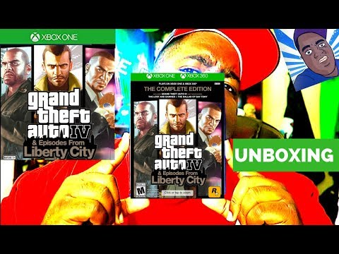 GRAND THEFT AUTO 4 : The Complete Edition Unboxing
