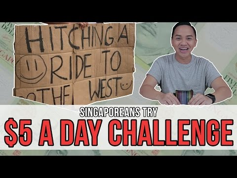Singaporeans Try: $5 A Day Challenge
