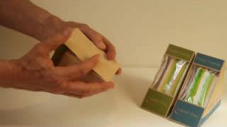 Biodegradable Triangle Sandwich Wedge