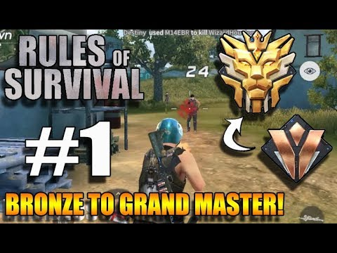 Rules of Survival - AUTO AIM?? | BRONZE TO GRAND MASTER #1