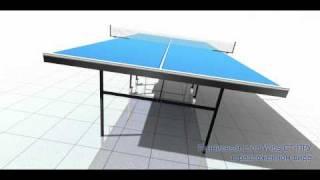 Теннисный стол WIPS для помещений раскладной на роликах(http://www.wips.ru., 2011-01-19T07:32:06.000Z)