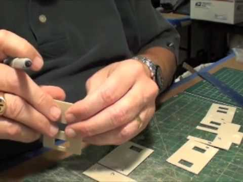 Making a Model Railroad Background Building – Part 1: Assembly