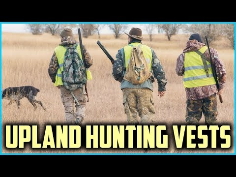 Top 5 Best Upland Hunting Vests In 2019