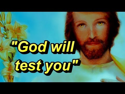 God Testing You- Apparition of St. Joseph to the visionary Sister Lucia de Jesus on 3-19-2018