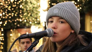 Justin Bieber Mistletoe Allie Sherlock cover