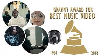 Grammy Award for: Best Music Video (1984-2018)