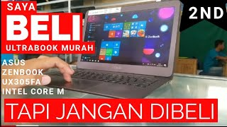 review Asus Zenbook UX305FA Intel Core M berMinus Dan Sangat Menggangu  no display #jangandibeli