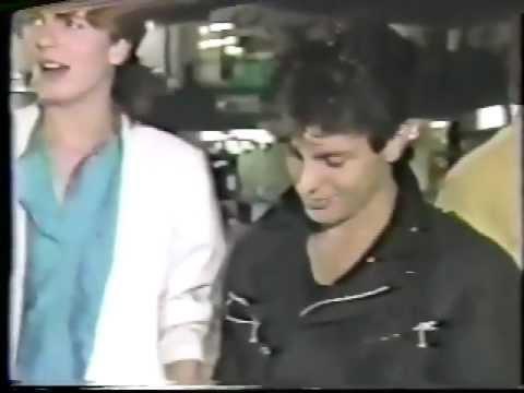 Rare Film   Duran Duran first visit Japan in 1982 Radical Politics Machines