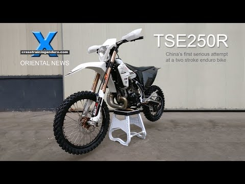 GPX TSE250R: China's first 2 stroke enduro at half the price!