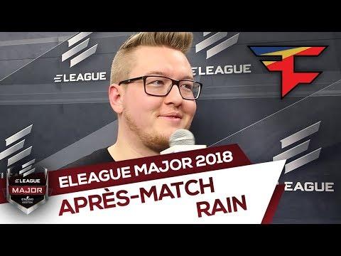 """rain : """"Je me fiche de qui nous jouons, je veux juste passer les poules""""  - ELEAGUE Boston 2018"""
