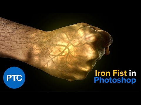 Iron Fist Effect - Glowing Hand - Photoshop Tutorial