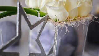 зимняя звездная свадьба