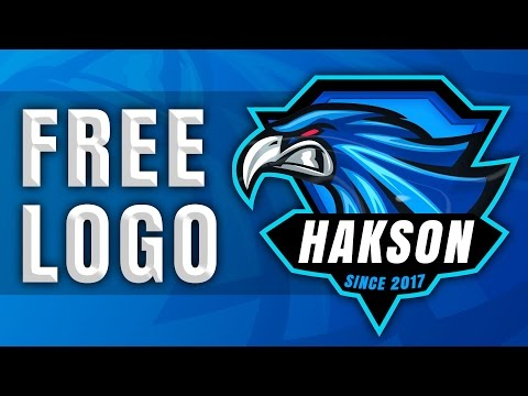 free gaming logo template gaming e sport clan logo psd youtube