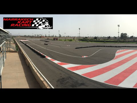 Marrakech Kart Racing hotlap