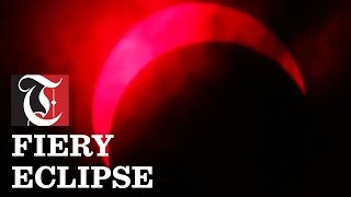 Fiery Eclipse: Witness the first solar eclipse of 2017