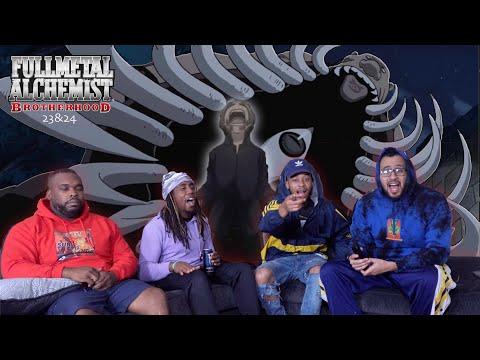 Full Metal Alchemist Brotherhood Episode 23 & 24 REACTION/REVIEW