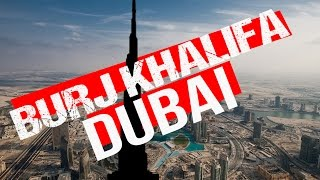Burj Khalifa DUBAI Sightseeing the TALLEST Building in the WORLD!