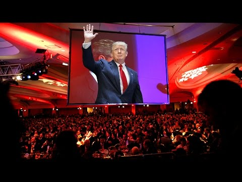 President Donald Trump Speech at National Republican Congressional Committee Dinner