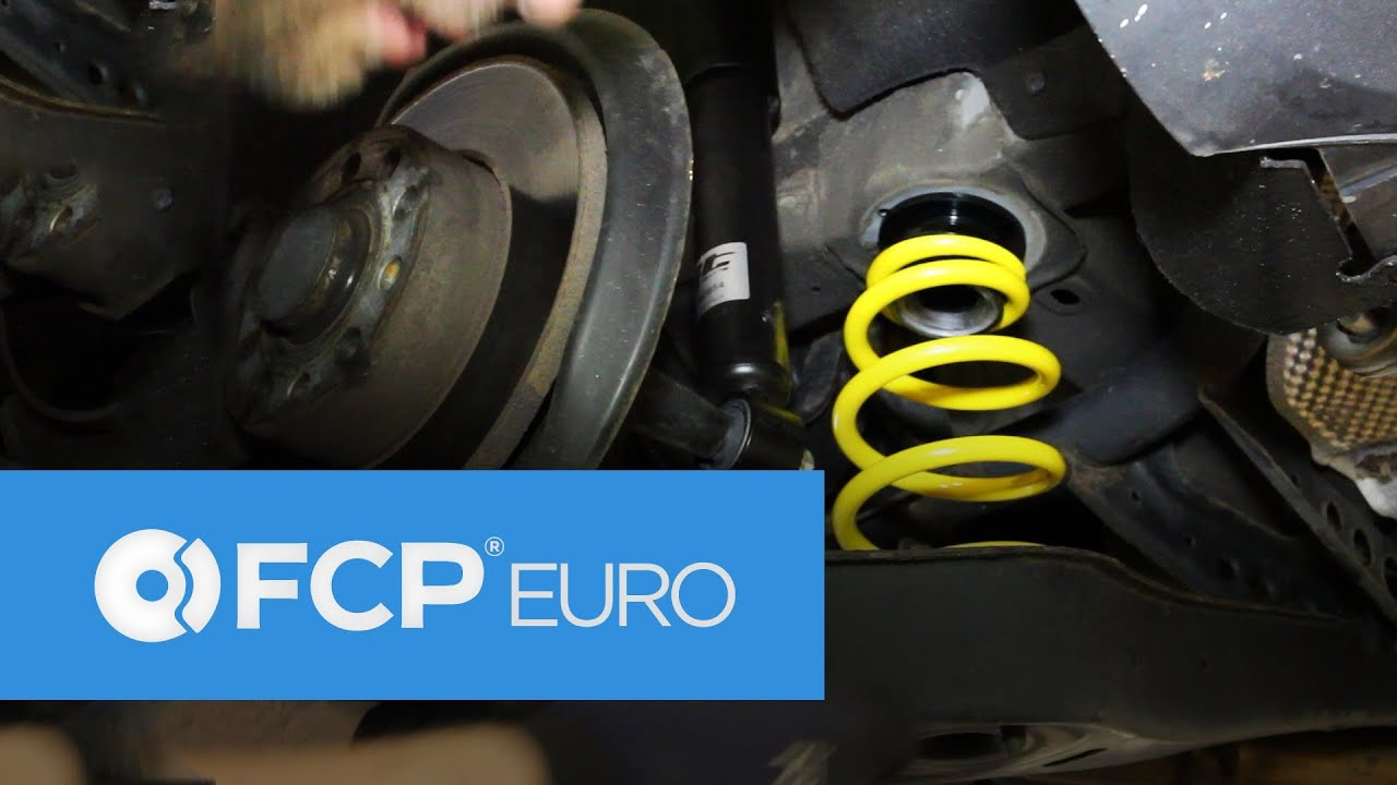 How To Install Vw Rabbit Rear Coilovers St Suspension