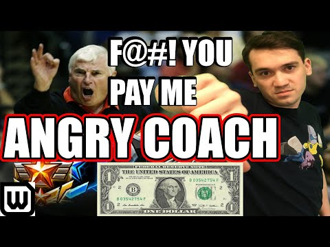 Starcraft 2 ANGRY COACH MARATHON #10   HECK YOU, PAY ME (Bronze To Masters)