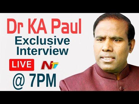 KA Paul Exclusive Interview LIVE | Andhra Pradesh Elections | NTV LIVE