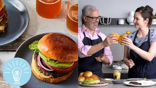 Joe Yonan's Black Bean-Chipotle Falafel Burgers | Genius Recipes