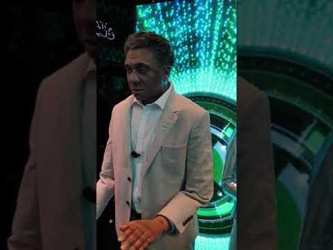 Humanoid, (Robot who resemble Human). @ Presented by ETISALAT @ GITEX DUBAI 2018