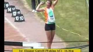 Senior Women's Shot - 2004 Southern Champs