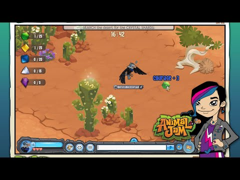 Animal Jam - Audrey Game Play EP10 - Eagle Adventure
