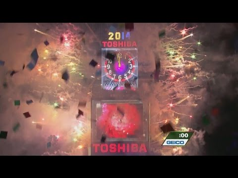 NBC 2014 New Years Eve Ball Drop New York HD 1080p