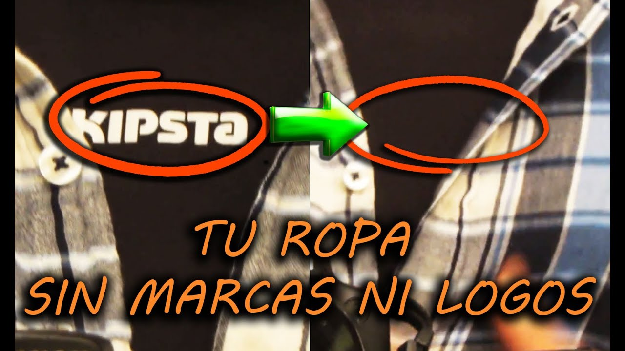 Como Quitar Pintura Plastica De La Ropa How To Remove The Brand Or Logos From Your Clothes