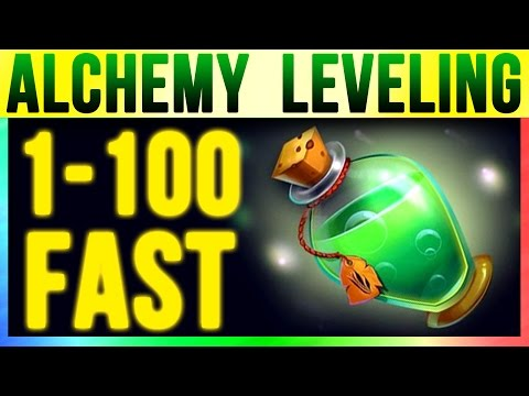 Skyrim Special Edition 100 Alchemy FAST At LEVEL 1 (Fastest Bow Skill Starter Guide Remastered)