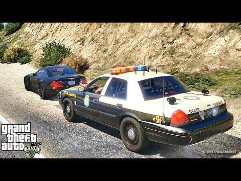 GTA 5 MODS LSPDFR 831 - FLORIDA HIGHWAY PATROL!!! (GTA 5 REAL LIFE PC MOD)