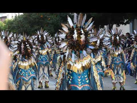 Desfile Del Carnaval De Badajoz.Las Monjas.23-2-2020.